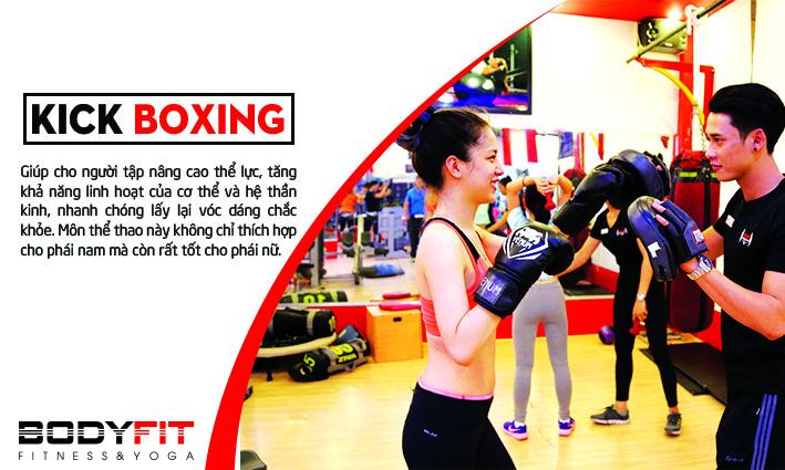 phòng tập kick boxing
