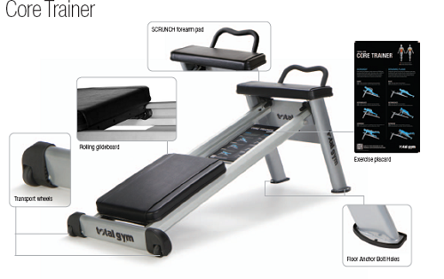 Máy tập cơ Total gym CORE TRAINER