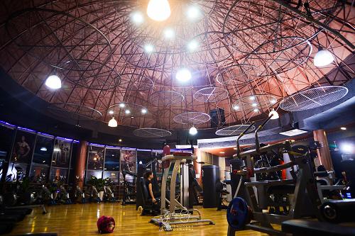 mô hình phòng tập gym