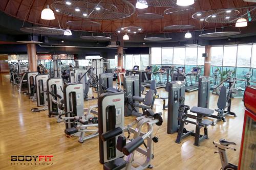 phòng gym chuẩn